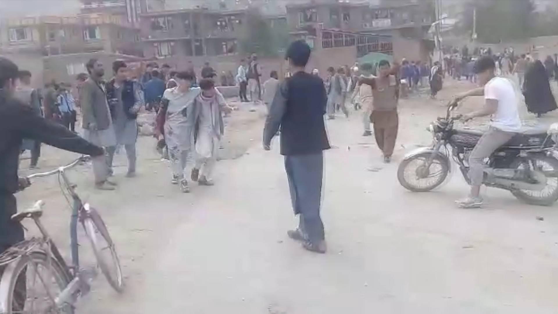全球连线|阿富汗首都连环爆炸遇难者超过50人
