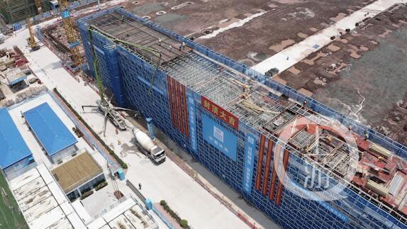 """一个月封顶两江新区这个项目再次创造""""两江速度"""""""