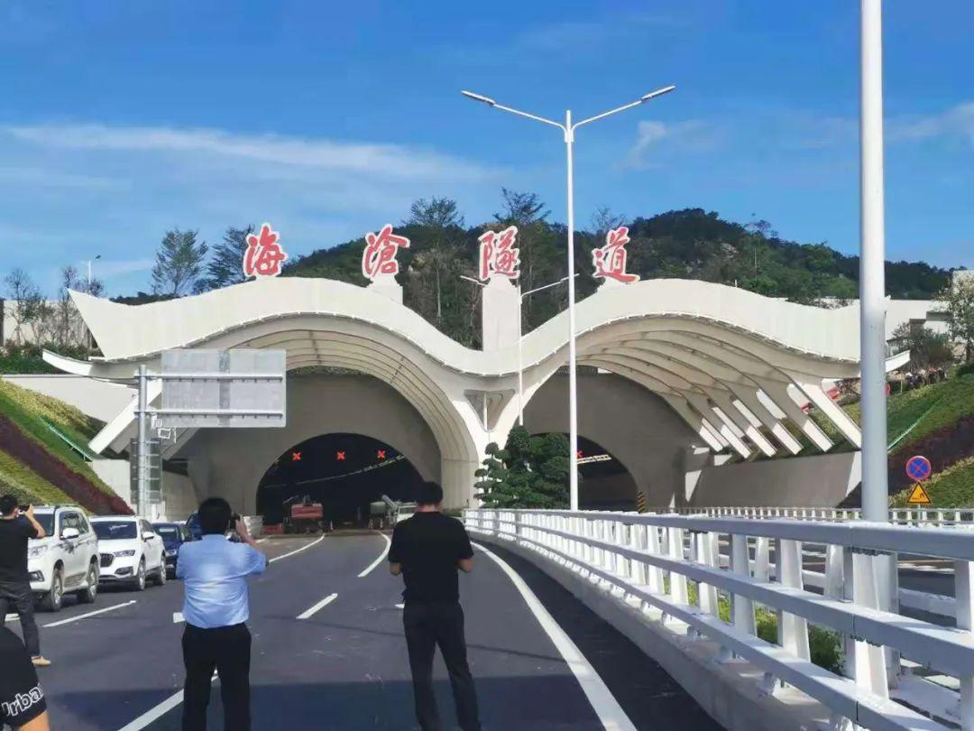 厦门海沧隧道6月17日正式通车