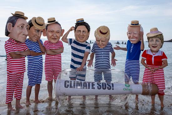 应对气候问题 G7再次许下空洞承诺