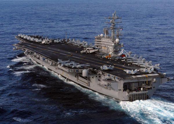 """参考快评:美国海军,正被""""近忧""""和""""远虑""""折磨"""
