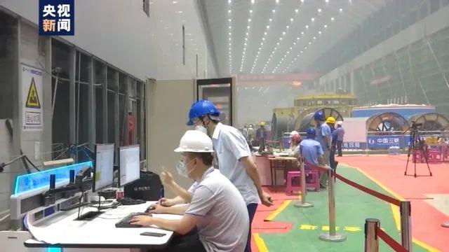 央视《新闻联播》报道!白鹤滩水电站今日成功接入四川电网图片