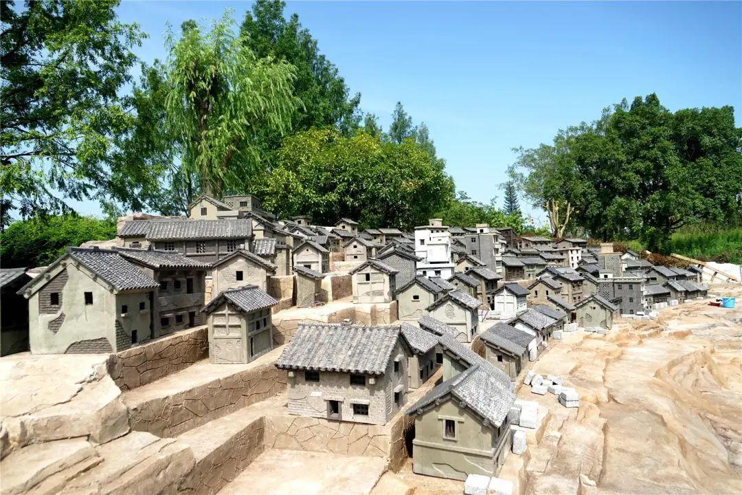 """【景观】云阳滨江公园添新景,还原记忆中的""""老家"""""""