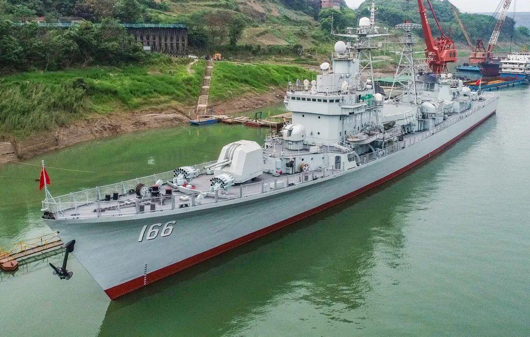 166舰,明日九龙坡见!