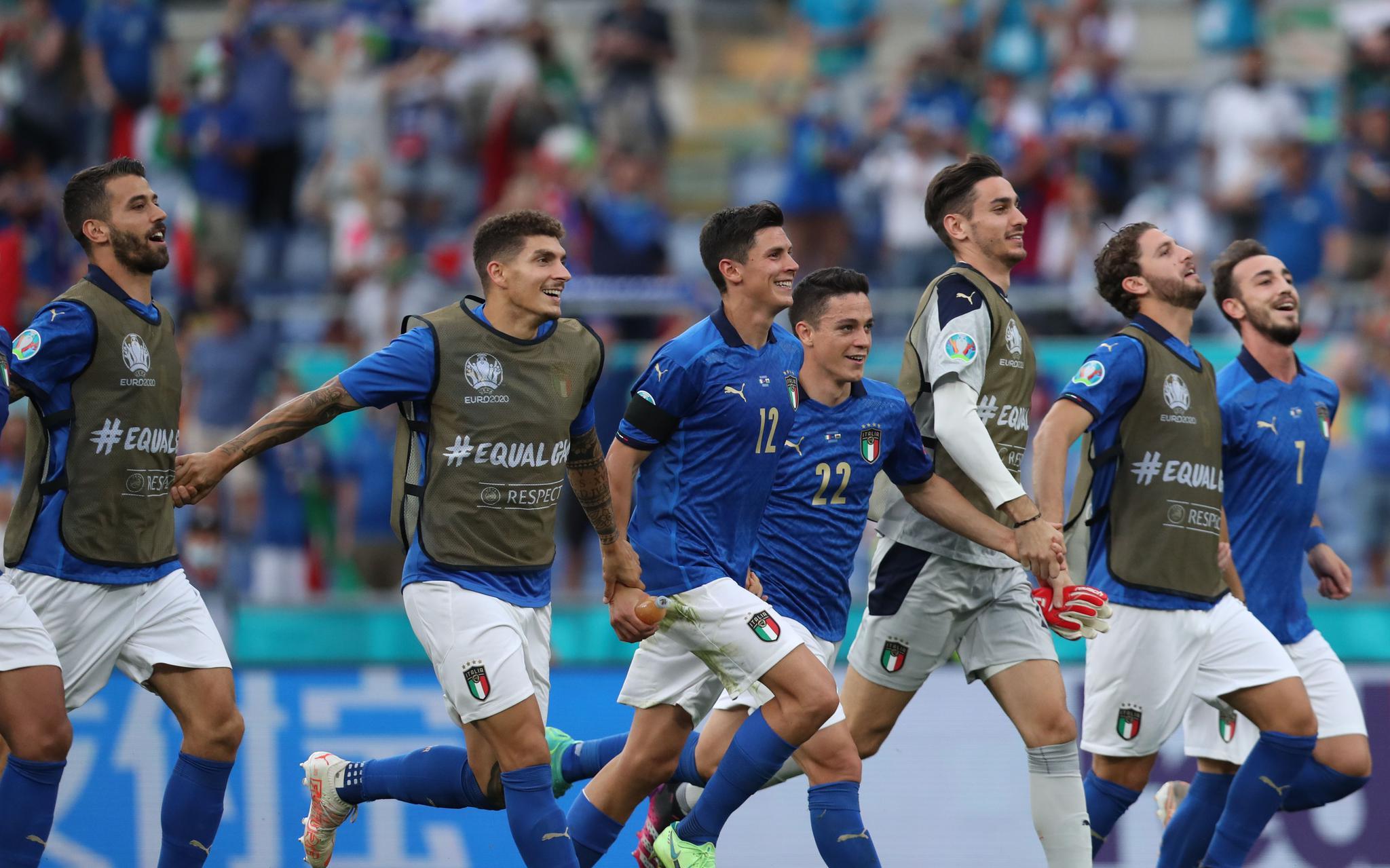 意大利VS奥地利:8强向意大利招手 能否零封是焦点