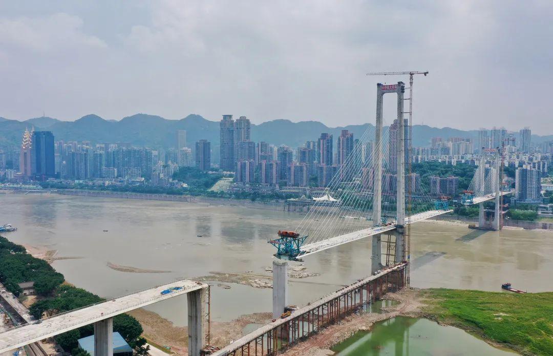 经4区跨9桥,166舰驶入九龙坡路线图来了