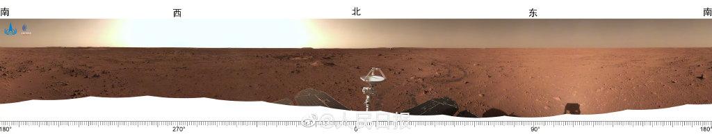 国家航天局发布天问一号系列实拍影像