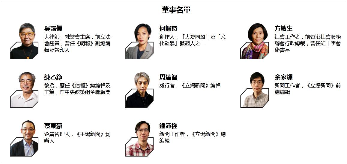 乱港媒体《立场新闻》下架5月前评论文章,何韵诗等6名董事辞职