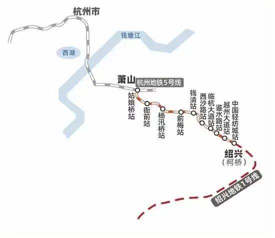 一票换乘!杭州地铁8号线一期和杭海、杭绍城铁正式开通