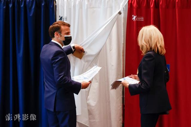 法国地方选举投票率创新低 马克龙和勒庞惨败