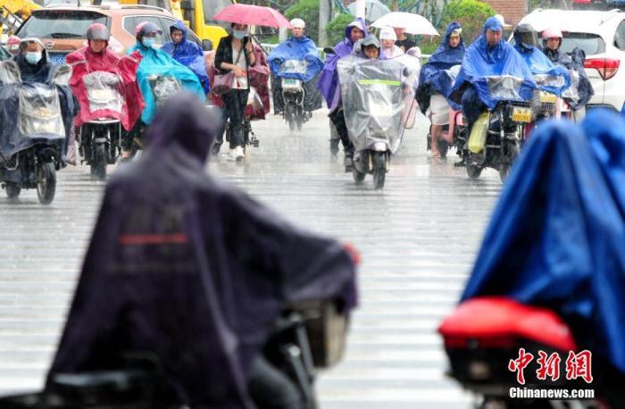 长江中下游地区有持续性强降水 暴雨黄色预警继续发布