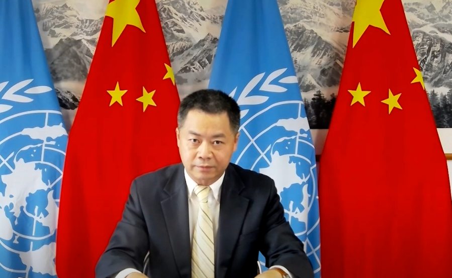 中国代表在联合国连续出击