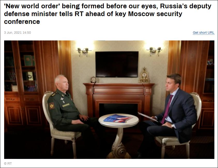 俄罗斯副防长:全球开始进入新一轮冷战