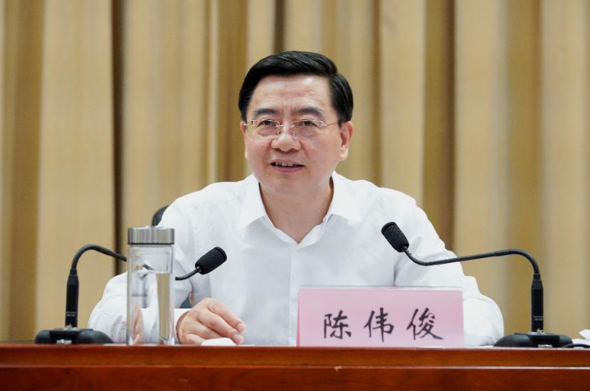 【杏悦】温州市委书记陈伟俊杏悦调任新疆图片