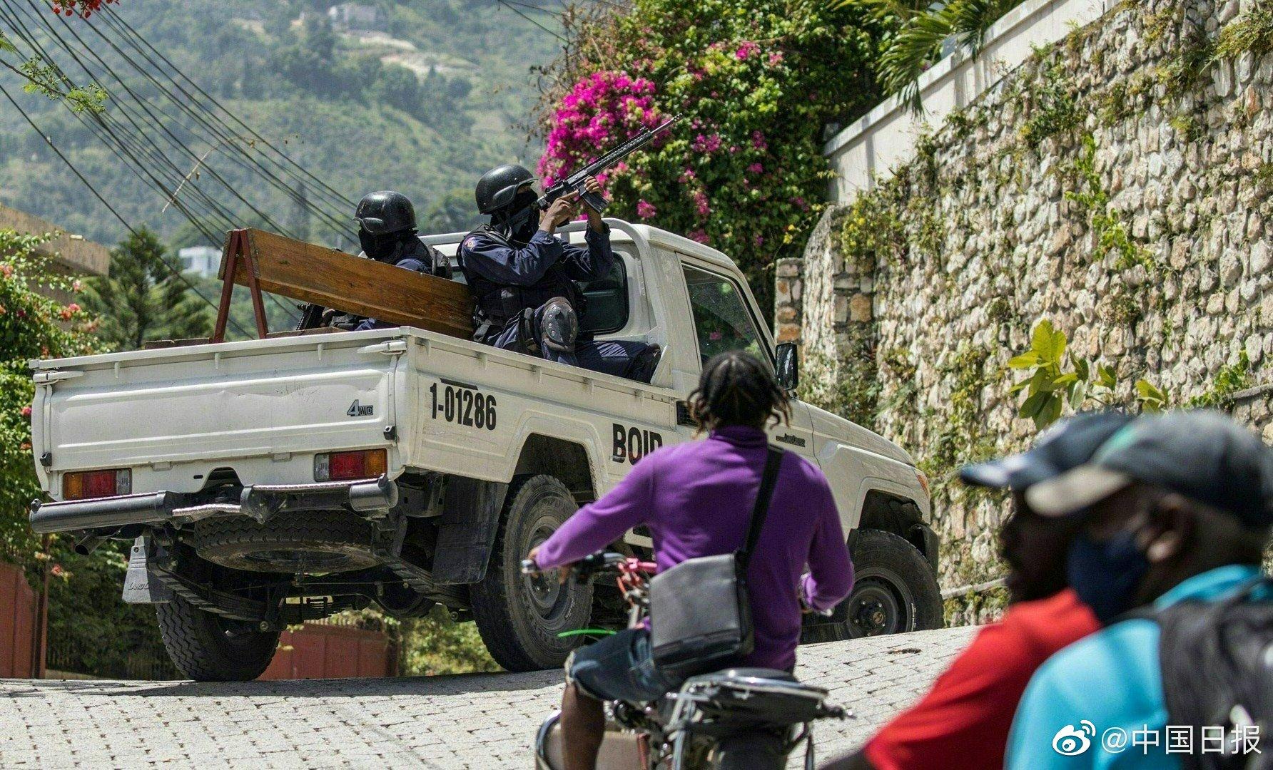 外媒:海地请求美国派兵稳定局势