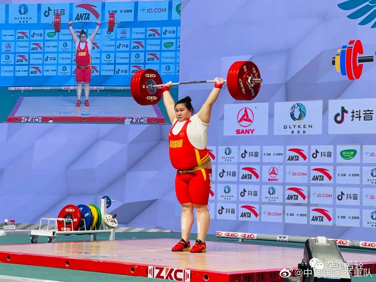 东京奥运会中国举重八人满额参赛,能否突破6金?