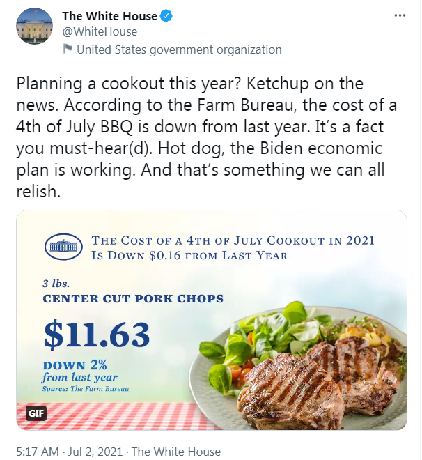 白宫一条推文,被讽刺惨了!