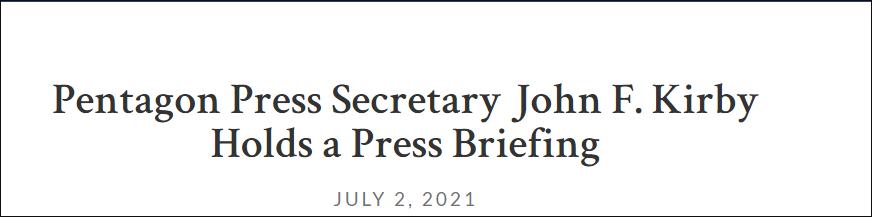 英媒称美日正就台海冲突进行兵棋推演,美国防部没正面回应