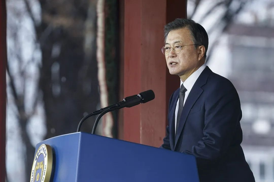 韩国成发达国家,文在寅表态
