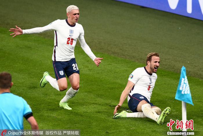 半个多世纪的漫长等待,英格兰首次闯入欧洲杯决赛