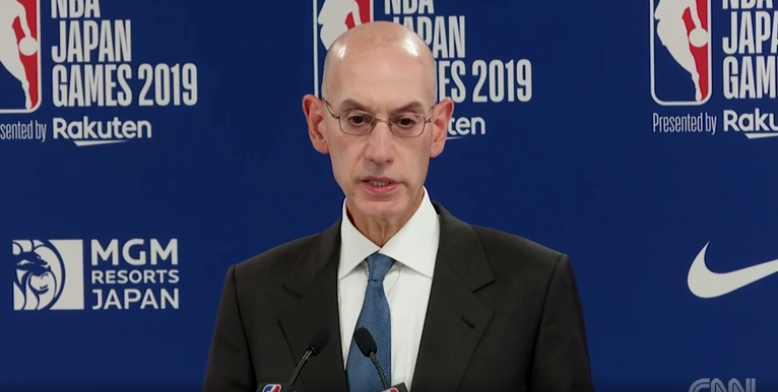 NBA总裁称不会认同在中国发生的一切 但想继续合作