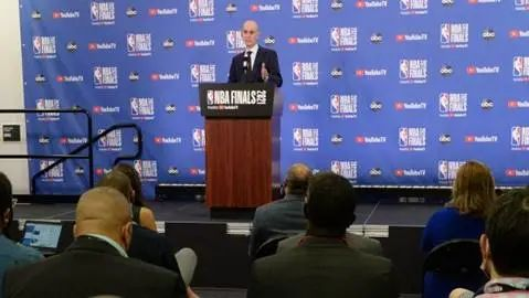 肖华又谈NBA与中国关系。