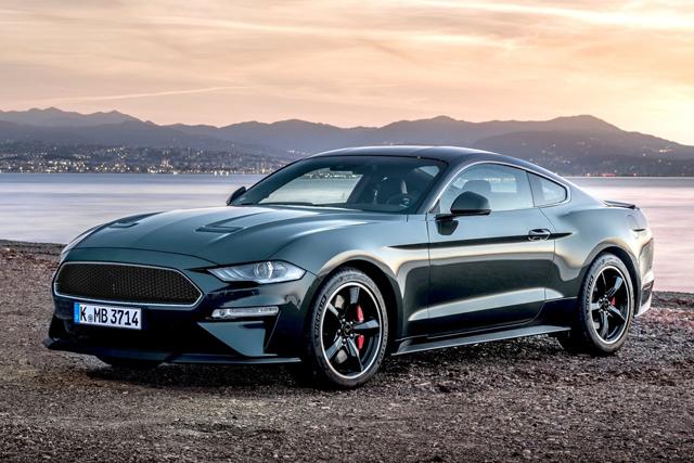 图集|向经典致敬 2019款福特Mustang Bullitt