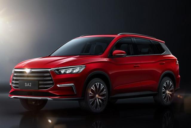 新车|比亚迪发布王朝全新A+级SUV SA2官图