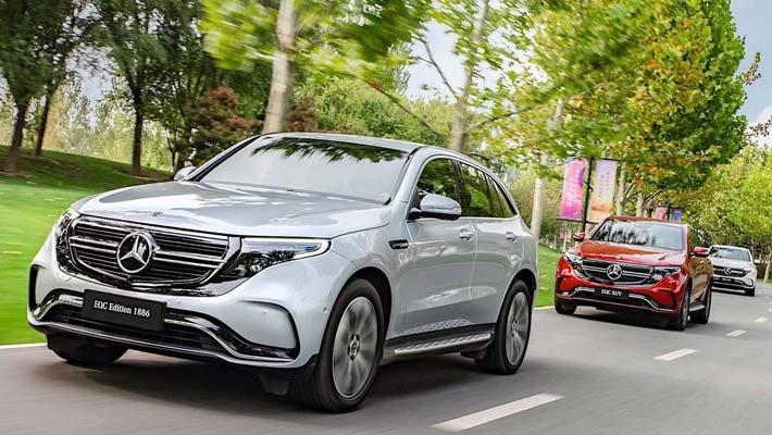 奔驰纯电动SUV EQC或将推迟一年上市