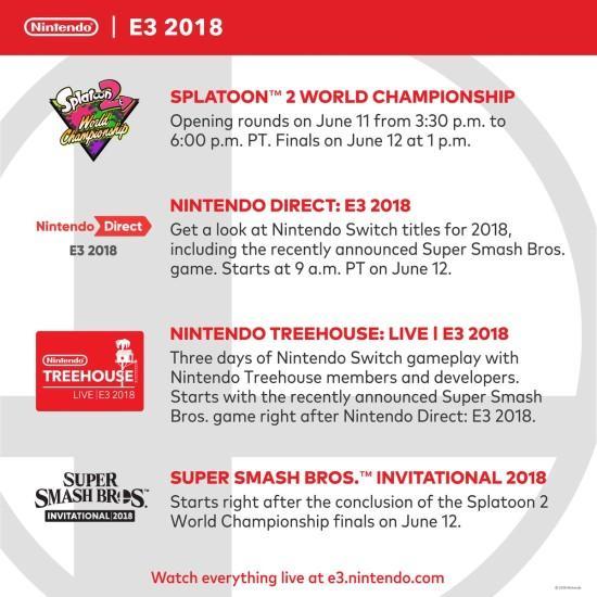 任天堂E3计划聚焦NS 主打《任天堂全明星大乱斗》