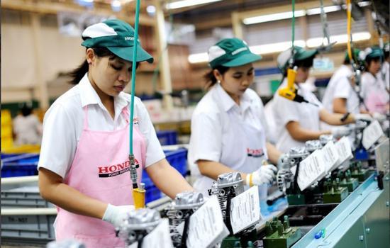 泰国1月制造业产出下降近4.6% 连续九个月下滑