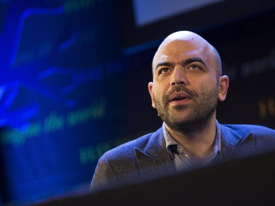 图 黑手党专家、著名记者Roberto Saviano
