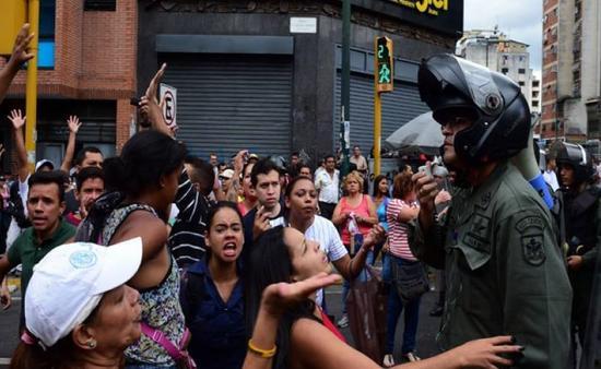 图 经济危急中的委内瑞拉