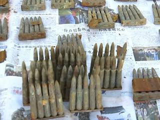 农民发现千发子弹 或为日伪时期遗留