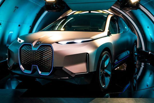 图集|宝马iNEXT概念车 宝马最尖端科技产物