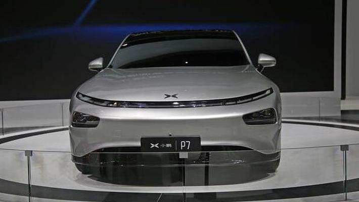 小鹏P7亮相广州车展 车长4.9米轴距达3米