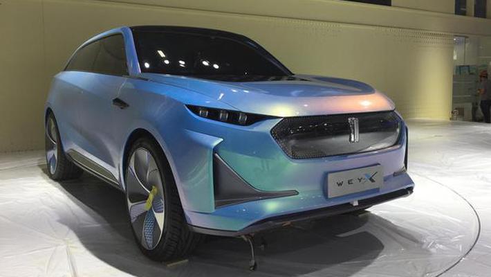 WEY-X概念车科幻感十足 期待量产车型