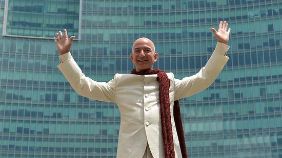 亚马逊超越谷歌 成全球第二大上市公司
