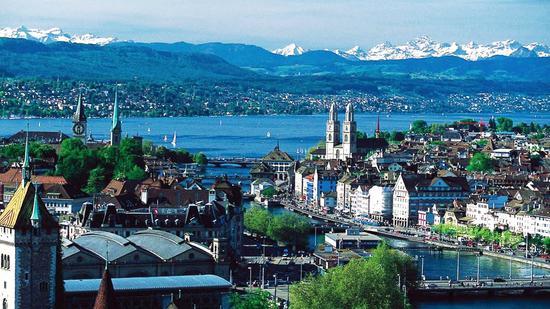 瑞士苏黎世物价水平冠绝全球