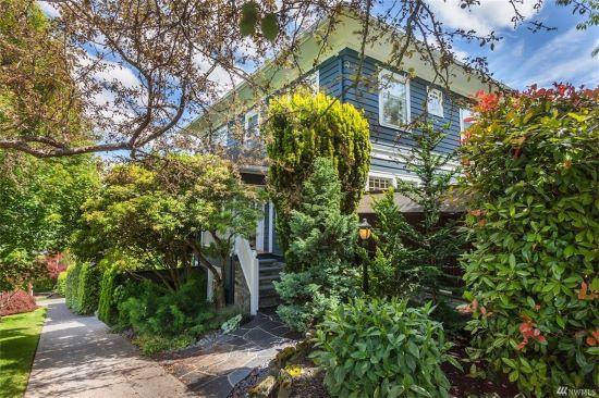 西雅图市经典工匠风格别墅,美景环绕,生活便利