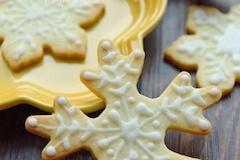 雪花糖霜饼干