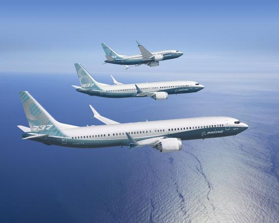 波音737MAX家族系列图片 来源:波音公司官网