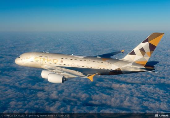 阿提哈德航空A380