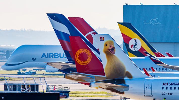 超萌:JetSmart鴨鴨涂裝A320neo來了!