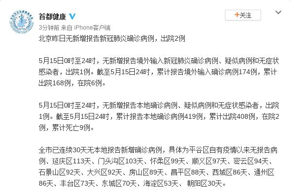 【摩天代理】月15日无新增报告摩天代理新冠肺炎确诊图片