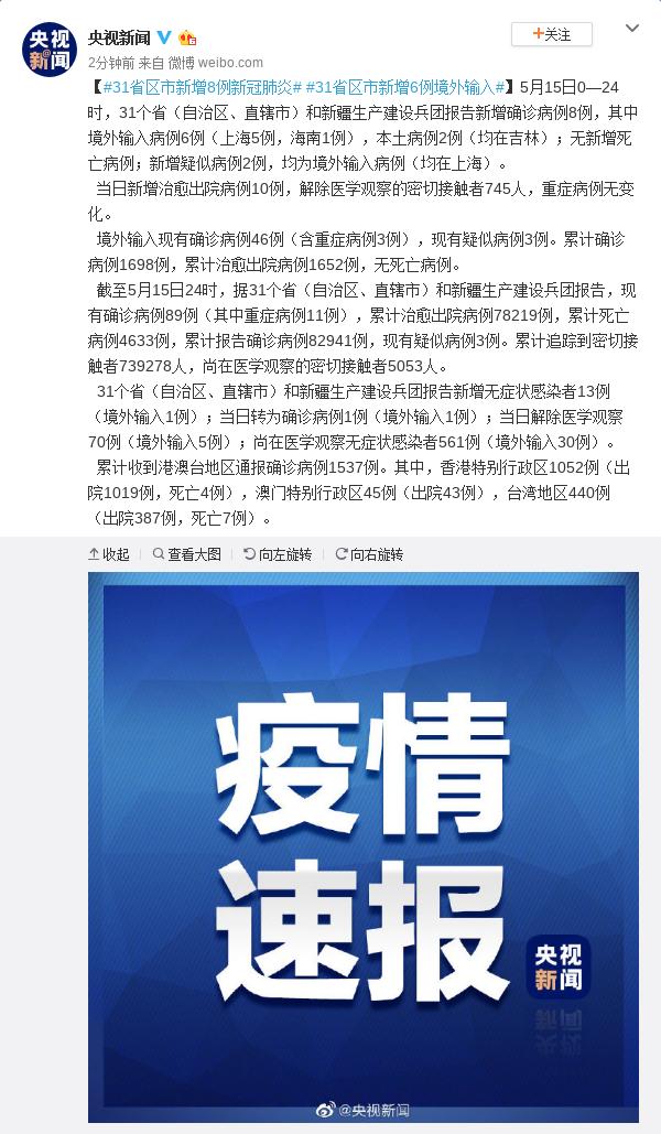 杏悦娱乐省区市杏悦娱乐新增8例新图片