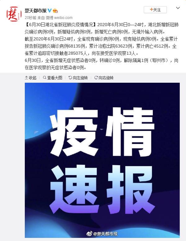 天富官网,0日天富官网湖北省新冠肺炎无新增图片