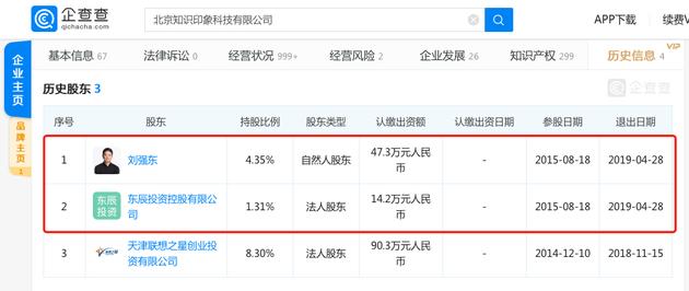 """刘强东退出章泽天处女投公司""""作业盒子""""的照片 - 2"""
