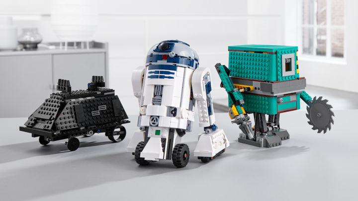 漫威宇宙时间线图 组装自己的R2D2!乐高推出《星球大战》可编程套装