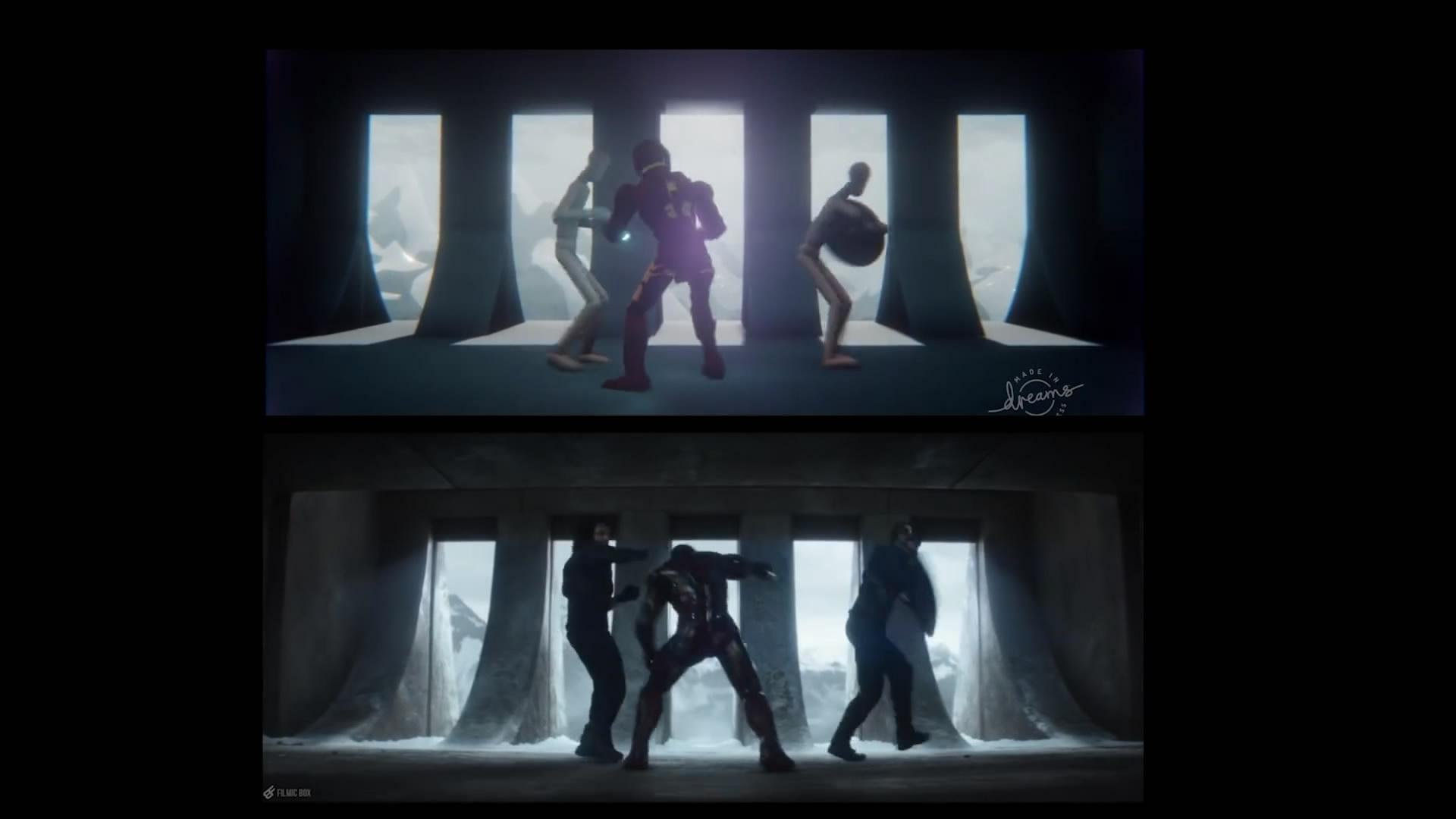 玩家用VR游戏还原钢铁侠大战美国队长 动作细节完美展现